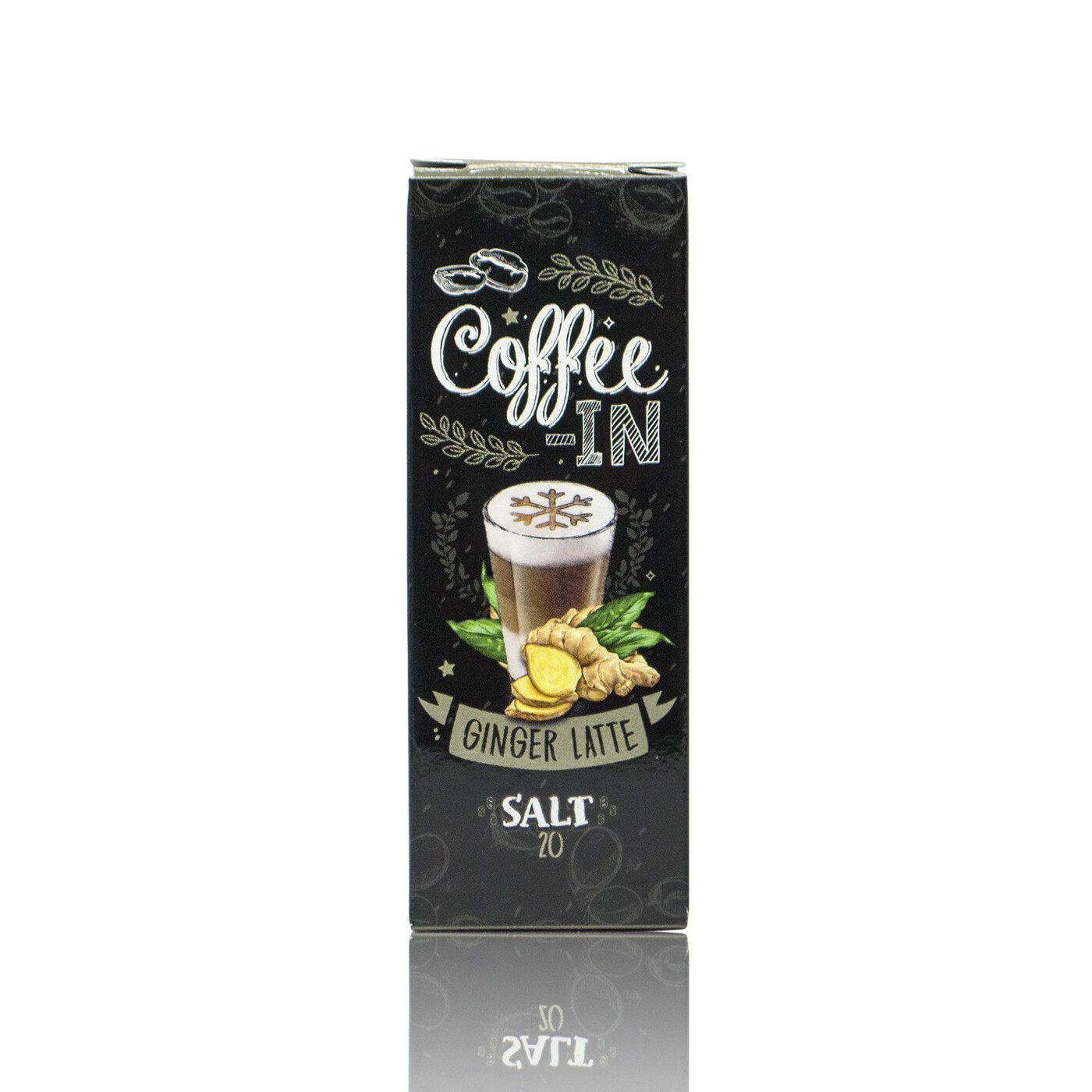 COFFE-IN SALT: GINGER LATTE 20MG STRONG