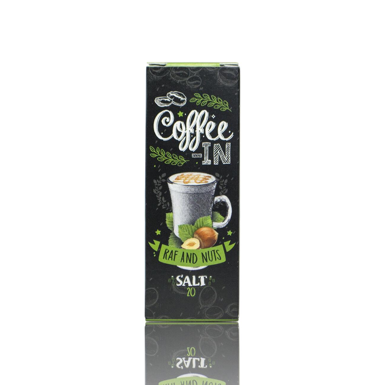 COFFE-IN SALT: RAF NUTS 20MG