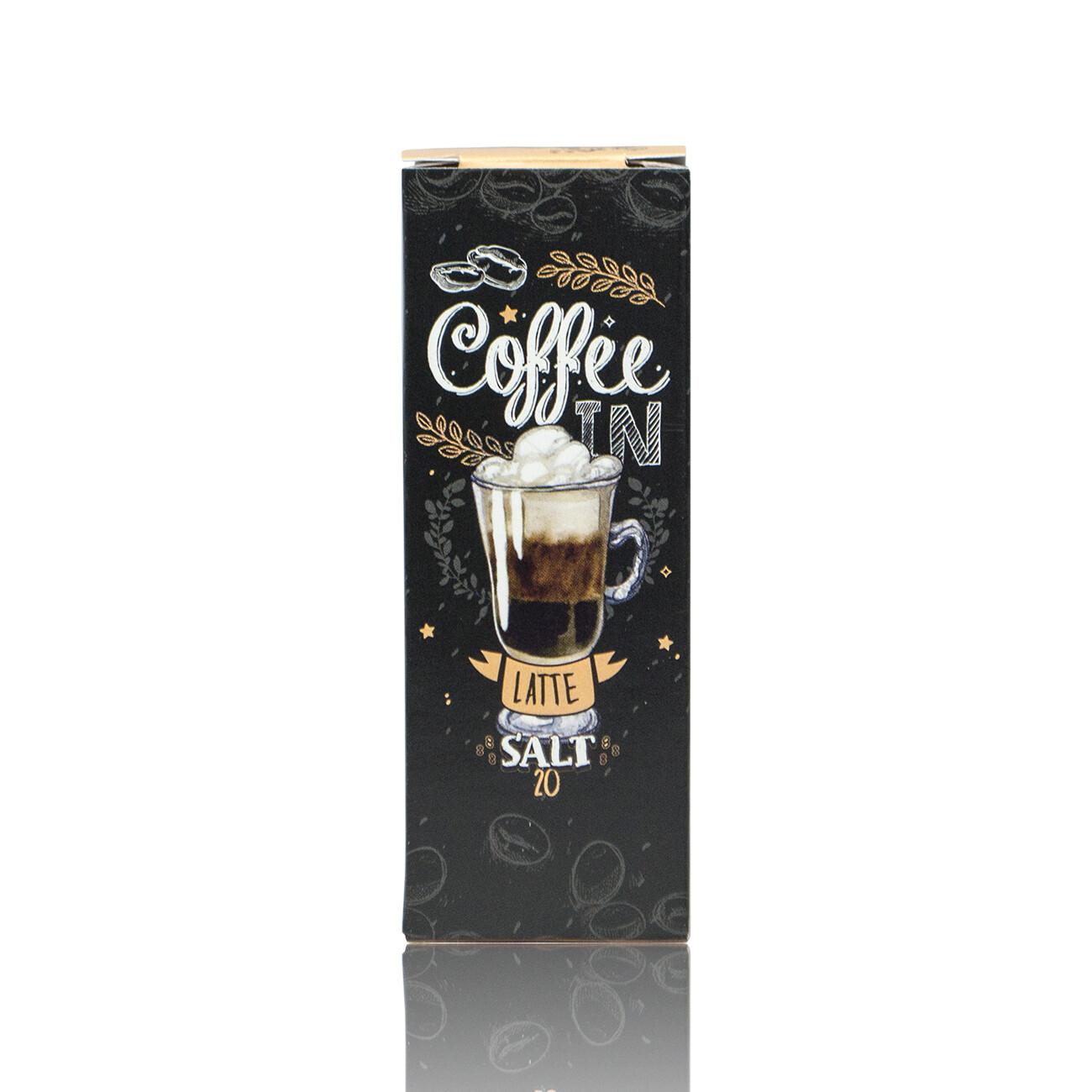 COFFE-IN SALT: LATTE 20MG STRONG