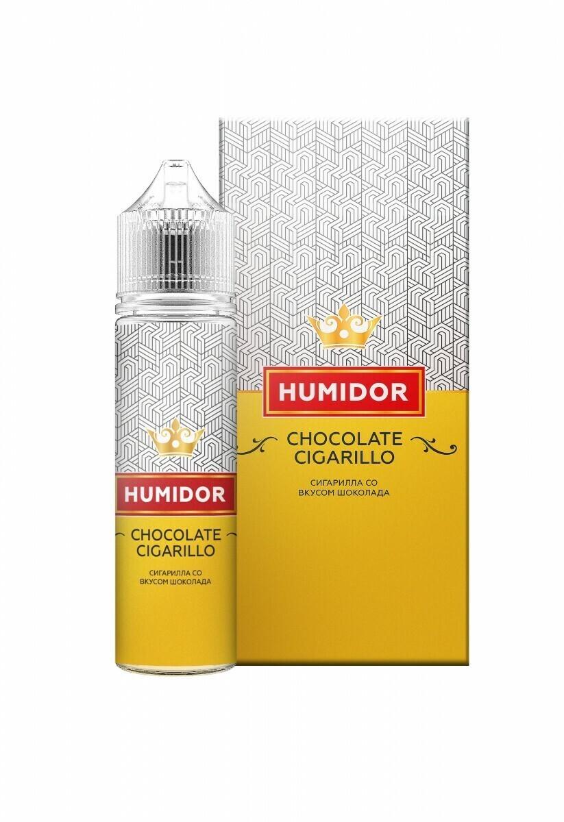 HUMIDOR: CHOCOLATE CIGARILLO 60ML 6MG