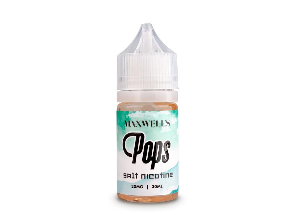 MAXWELLS: POPS SALT 30ML 20MG