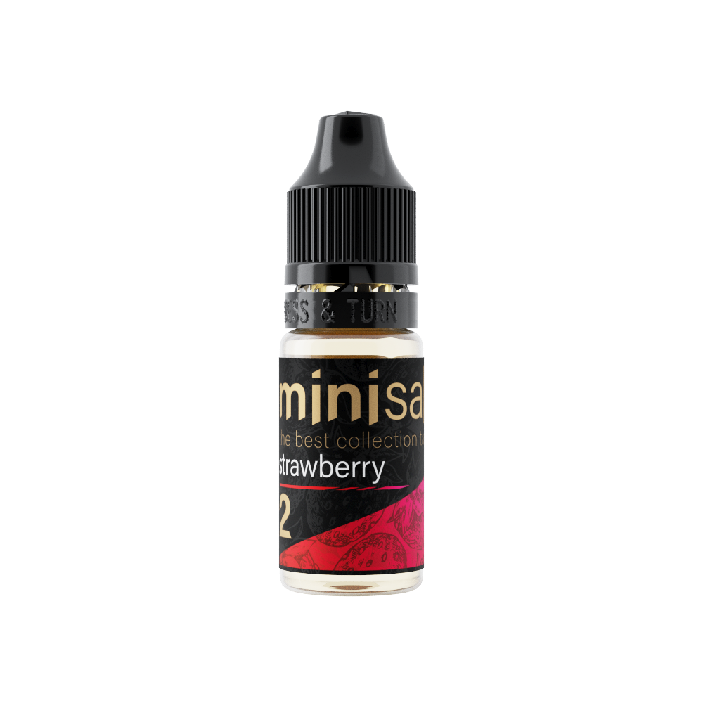 MINI SALT BY PRIDEVAPE: STRAWBERRY 10ML 50MG