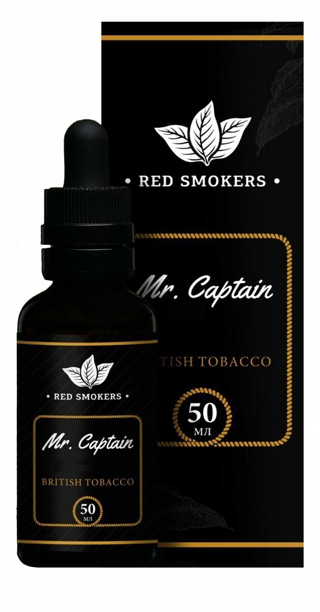 MR CAPTAIN BLACK: BRITISH TOBACCO 50ML 6MG