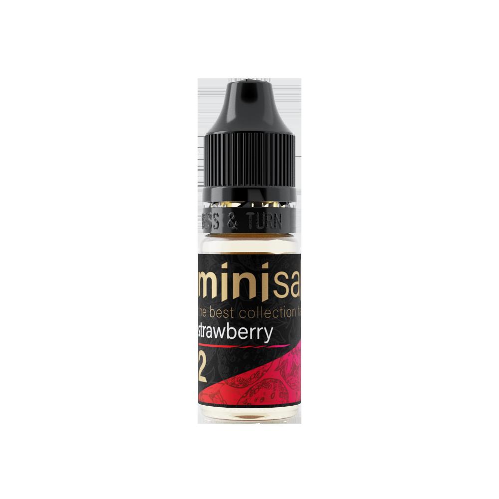 MINI SALT BY PRIDEVAPE: STRAWBERRY 10ML 20MG