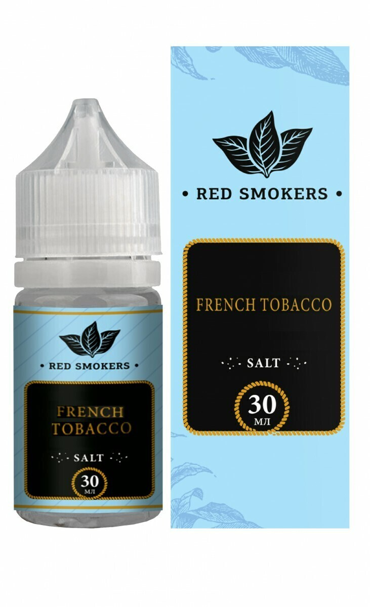 MR CAPTAIN SALT: FRENCH TOBACCO 30ML 20MG STRONG