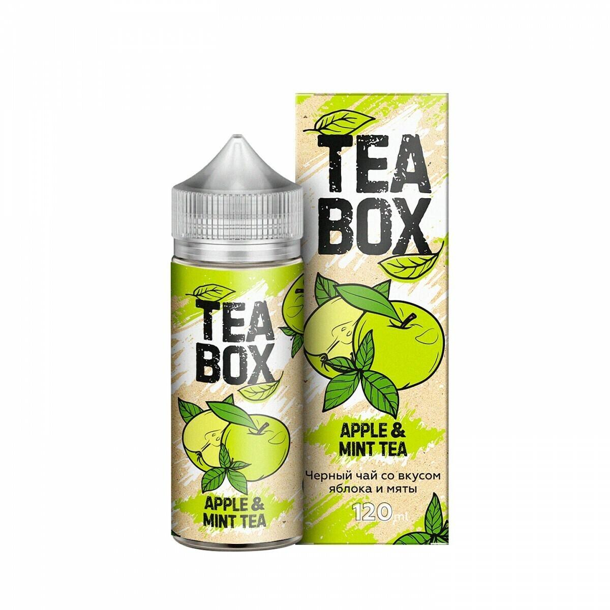 TEA BOX: APPLE MINT 120ML 3MG