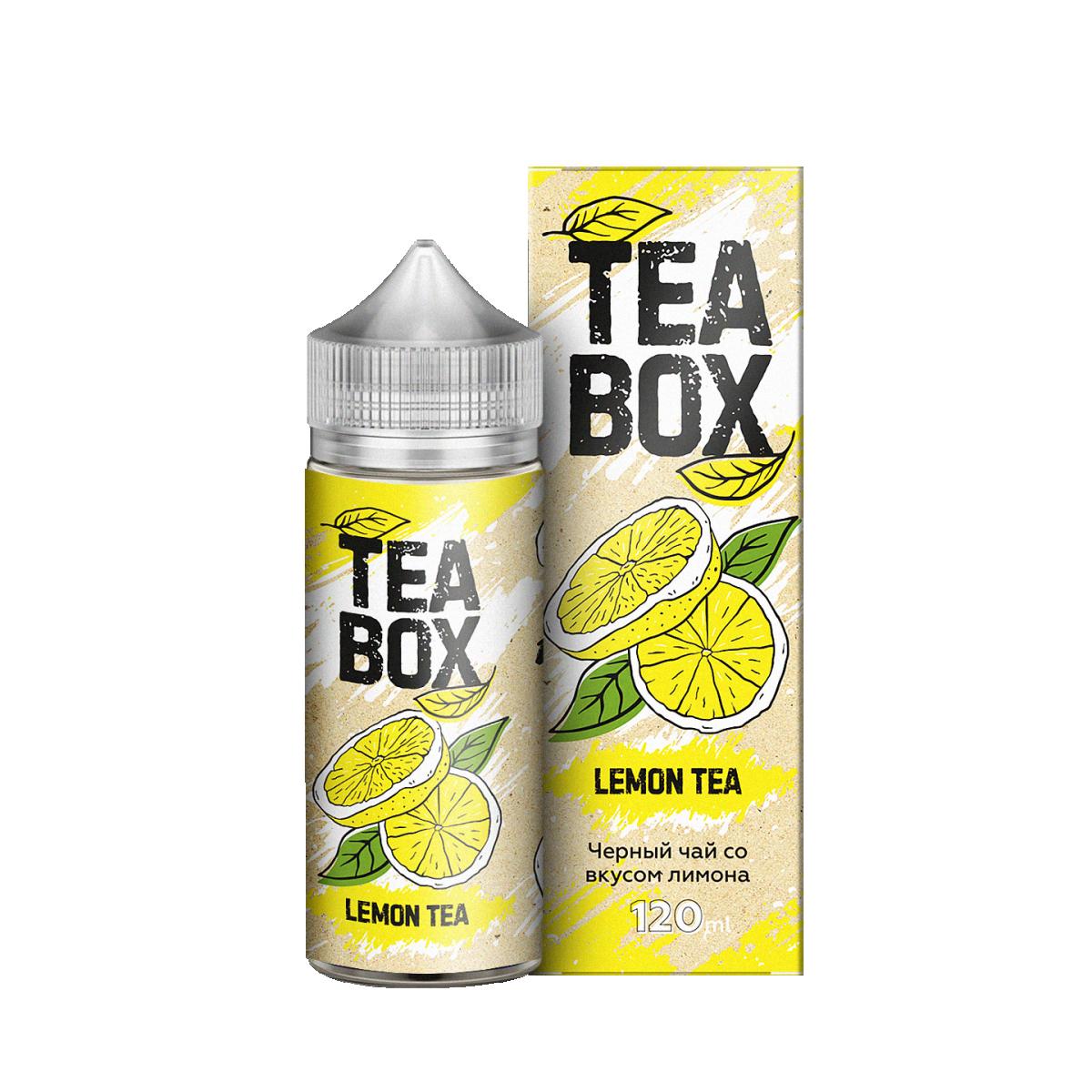 TEA BOX: LEMON 120ML 3MG