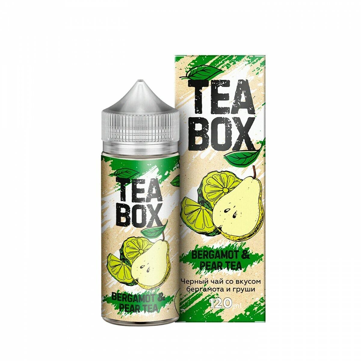 TEA BOX: BERGAMOT PEAR TEA 120ML 3MG