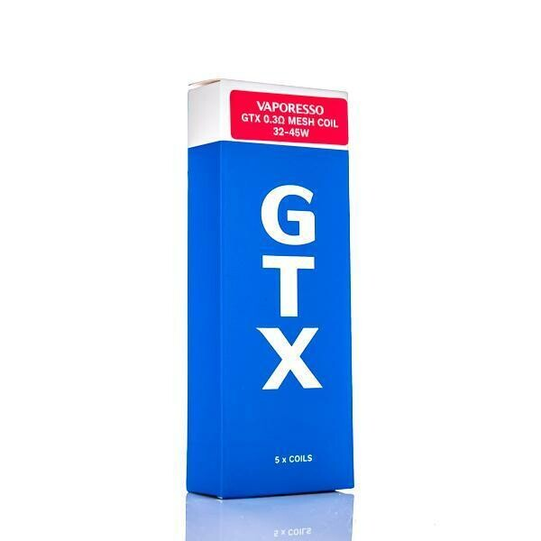 VAPORESSO GTX COIL: 0.6 OHM MESH 5ШТ