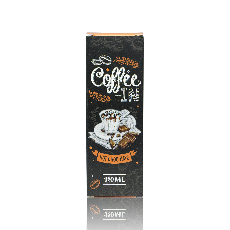 COFFE-IN: HOT CHOCOLATE 120ML 3MG
