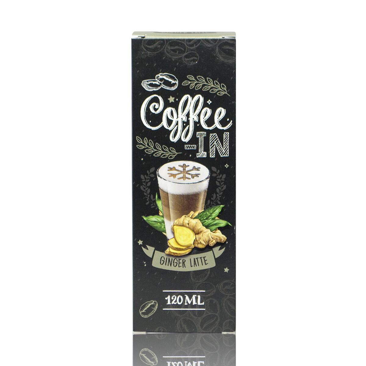 COFFE-IN: GINGER LATTE 120ML 3MG