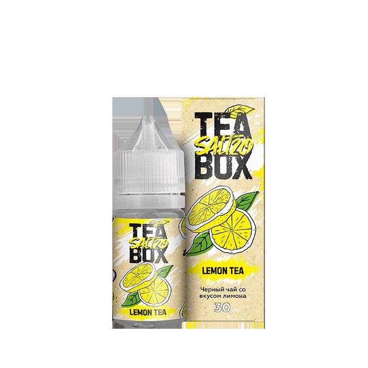 TEA BOX SALT: LEMON 30ML 20MG STRONG