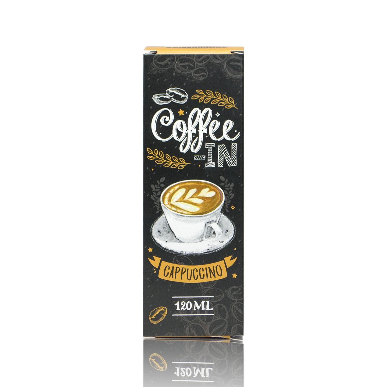 COFFE-IN: CAPPUCHINO 120ML 3MG