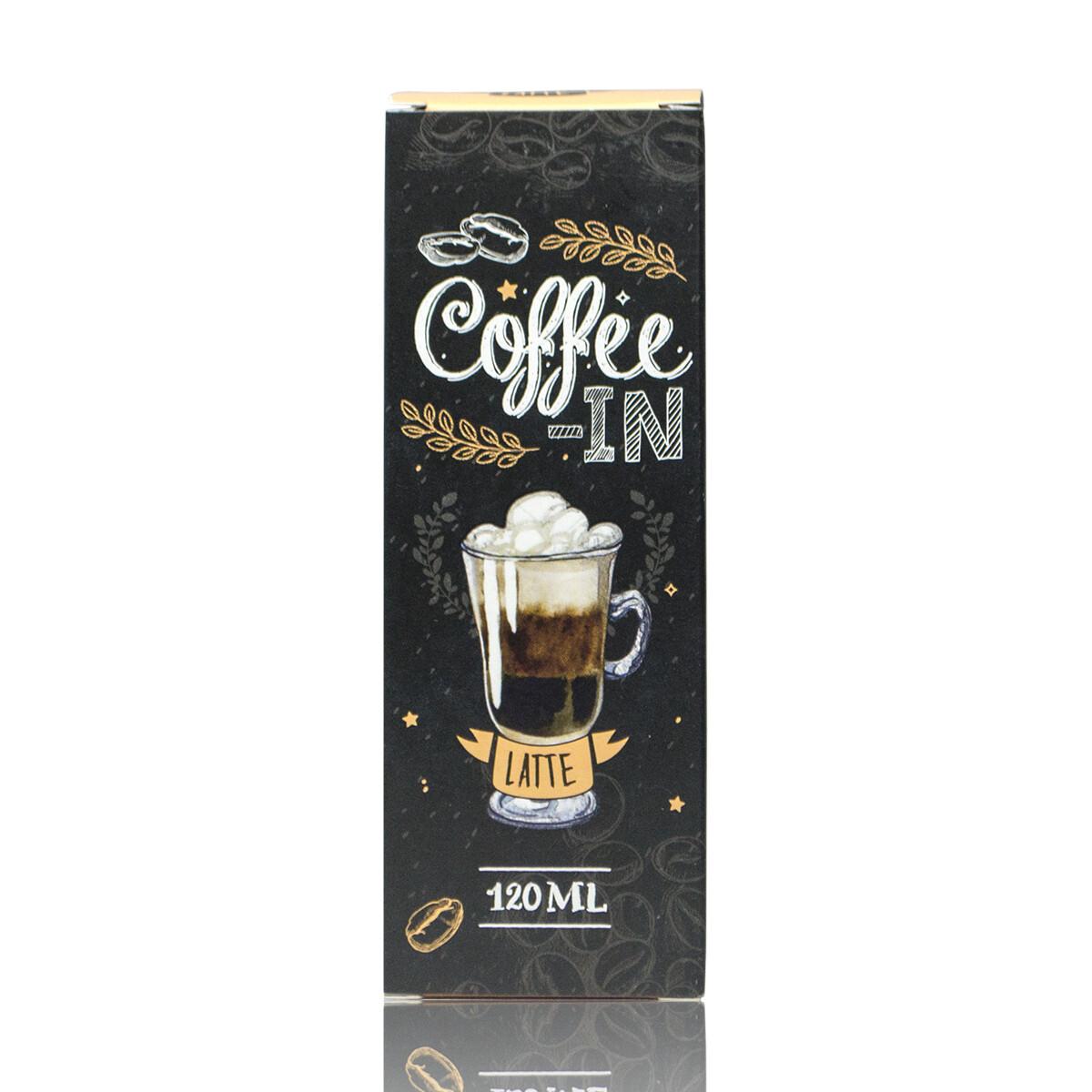 COFFE-IN: LATTE 120ML 3MG