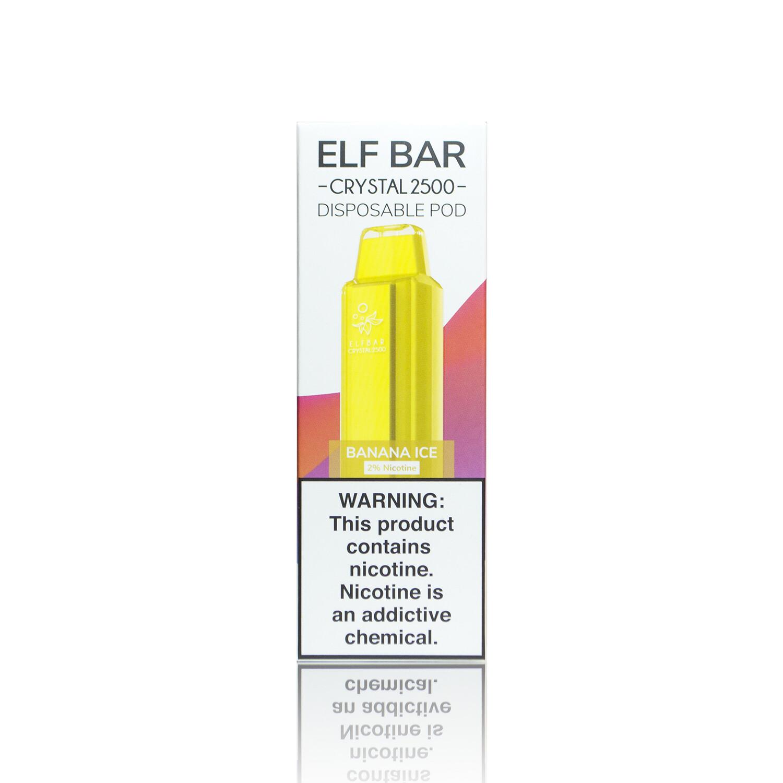 ELF BAR CRYSTAL 2500: BANANA ICE