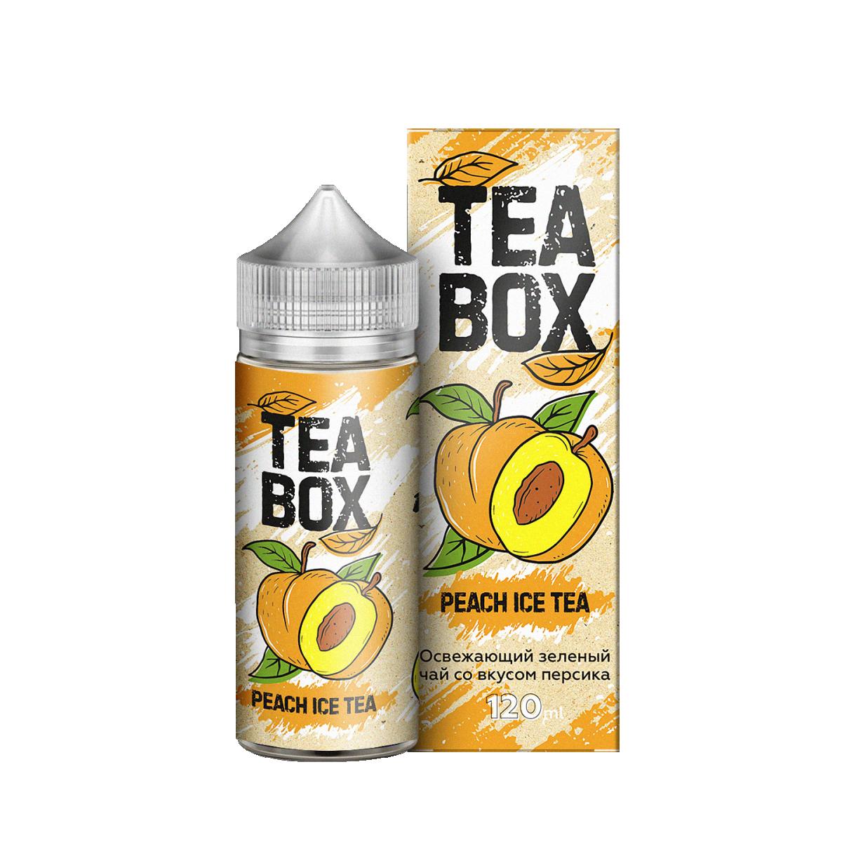 TEA BOX: MANGO PINEAPPLE 120ML 3MG