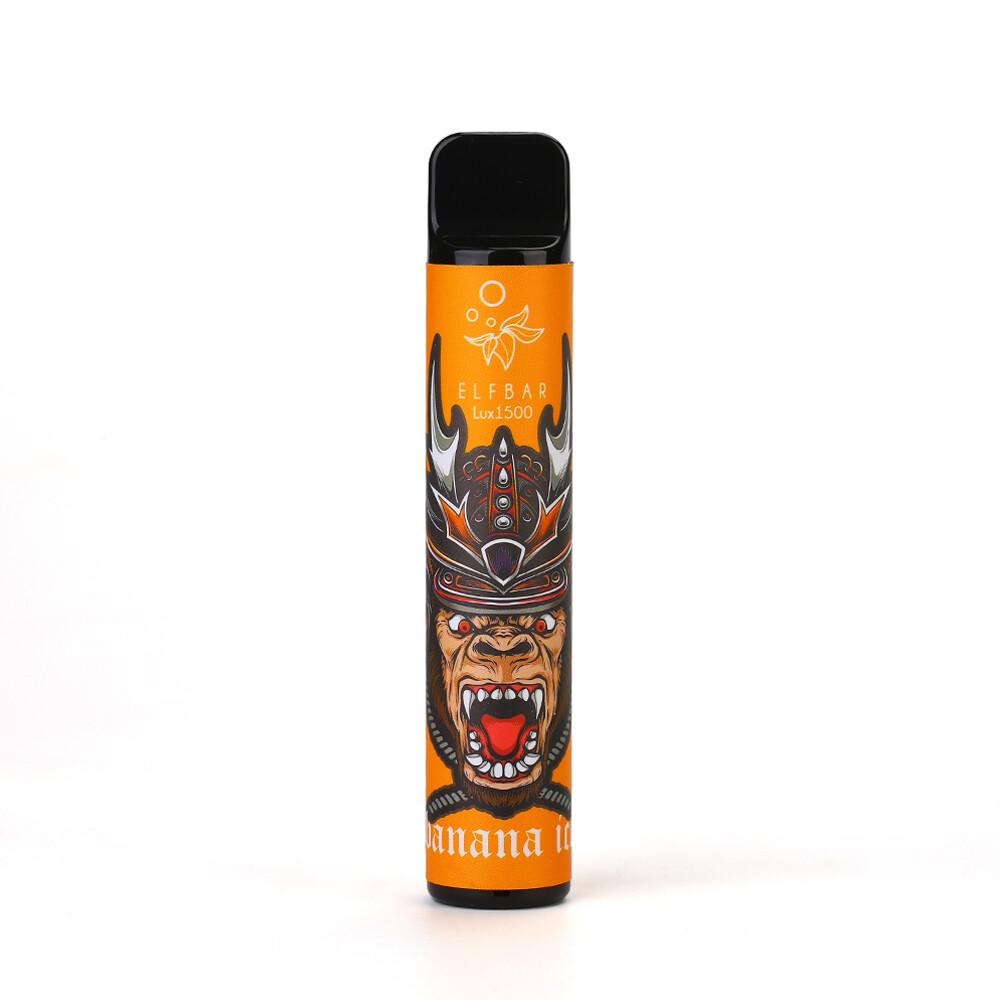 ELF BAR 1500 LUX: BANANA ICE