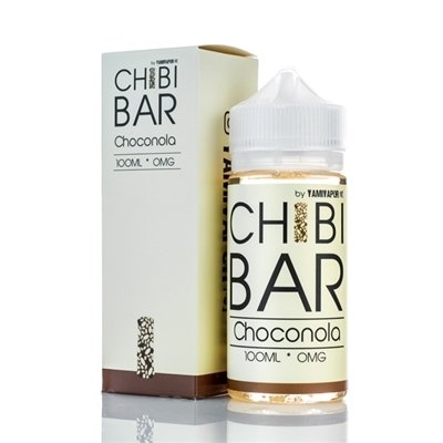 CHIBI BAR BY YAMI VAPOR : CHOCONOLA 100ML 0MG