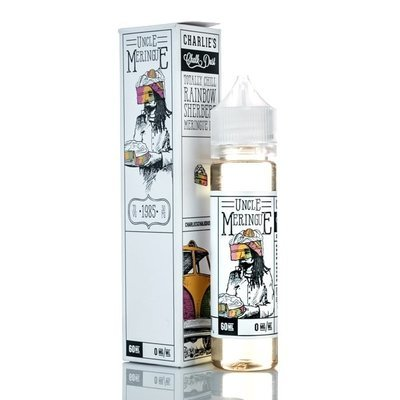 MR MERINGUE E-LIQUID: UNCLE MERINGUE  60ML 0MG