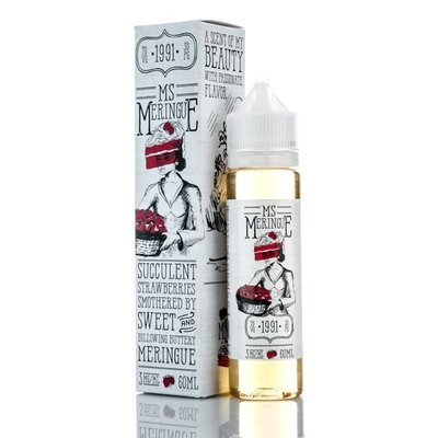 MR MERINGUE E-LIQUID: MS MERINGUE 60ML 0MG