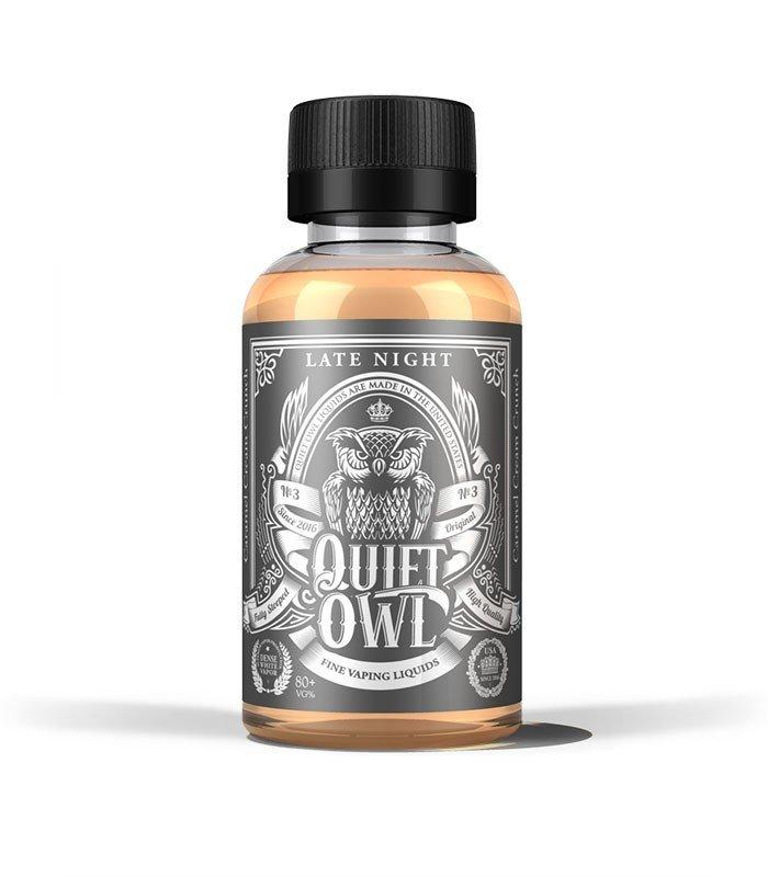 QUIET OWL: LATE NIGHT 60ML 0MG