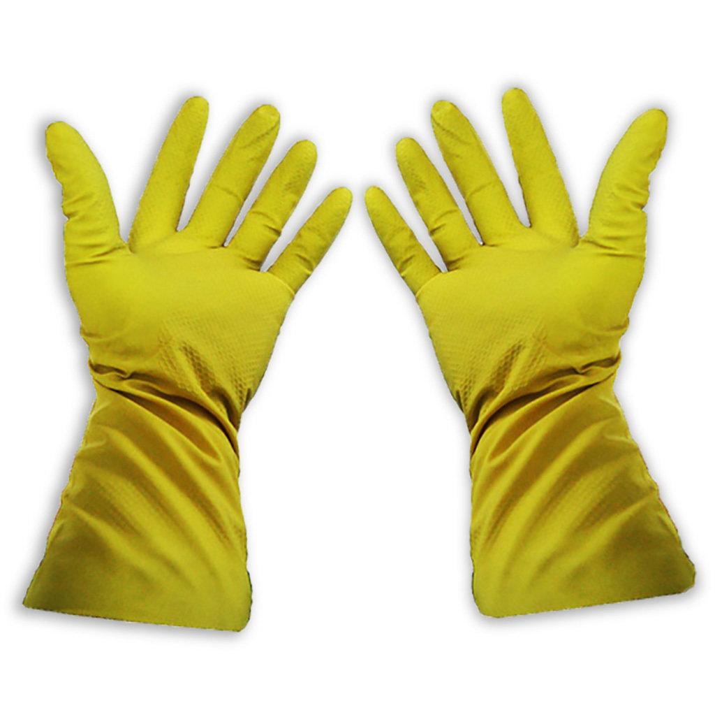 Перчатки латексные ворсовые 00194