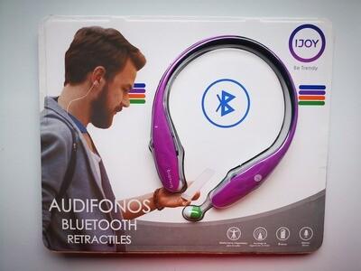Audifonos Bluetooth Retractiles Manos Libres