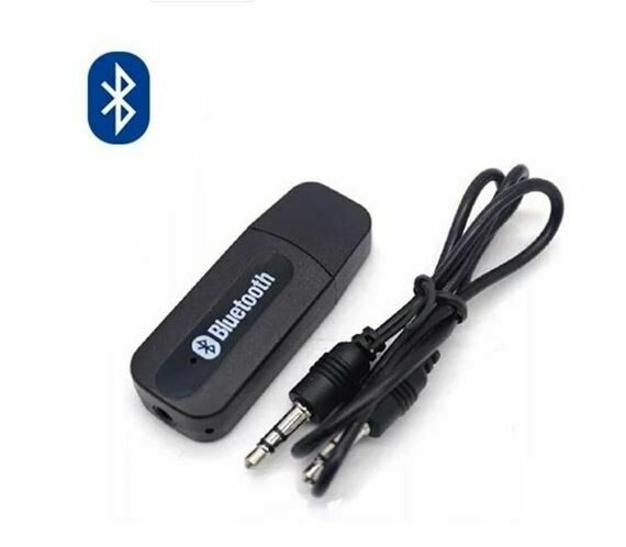 Receptor Bluetooth de Audio USB con Cable Auxiliar