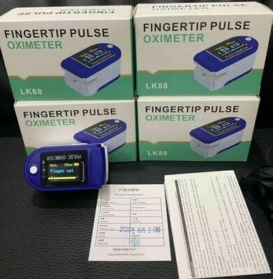 Oximetro de Pulso Azul