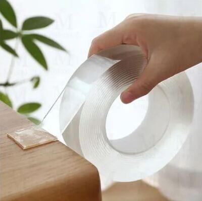 Cinta Magica Doble Cara Ivy Grip Lavable Reutilizable 3mts