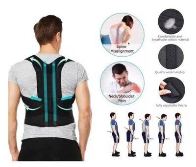 Faja Correctora de Postura Espalda Soporte para Alivio Del Dolor