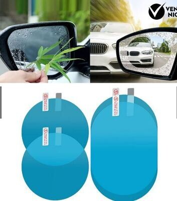Película Protectora Para Espejo Retrovisor Para Auto 95MM X 135MM