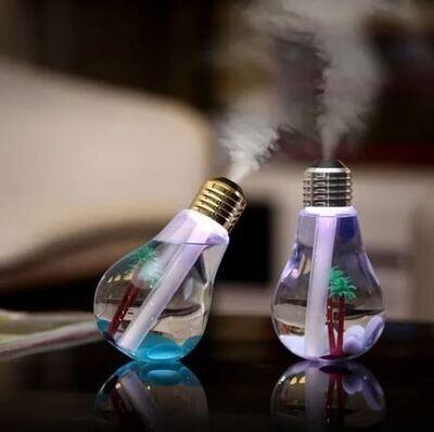 Foco Humidificador Sanitizante Difusor De Aromas