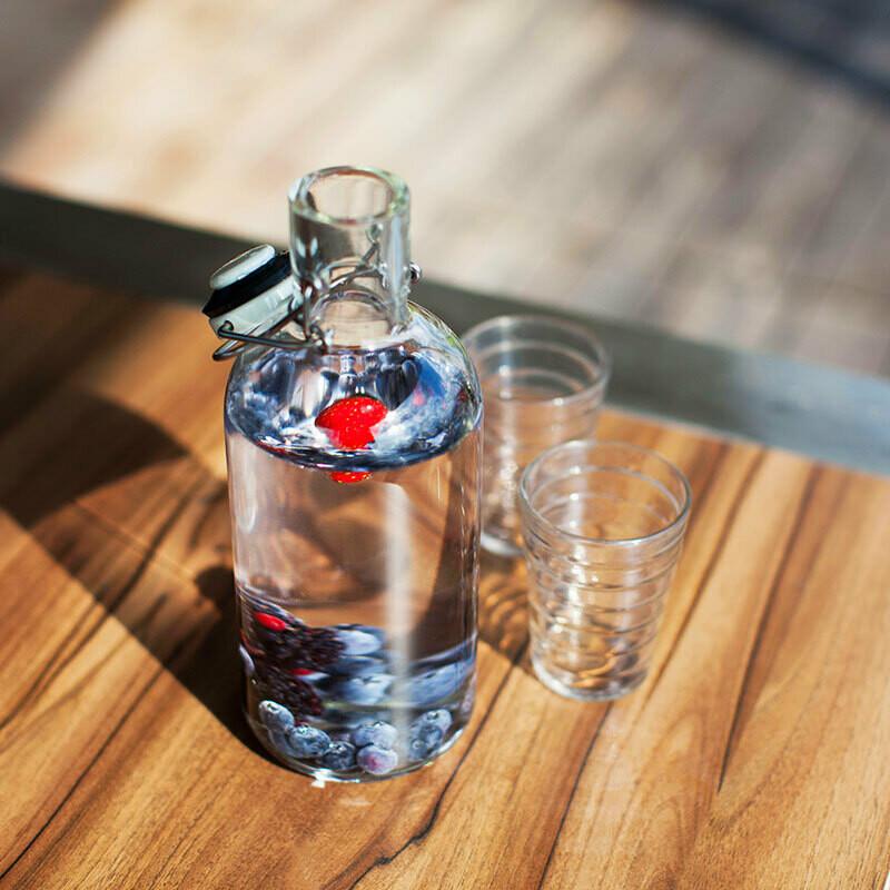 Fill me bottle - uni 6dl und 1 Liter