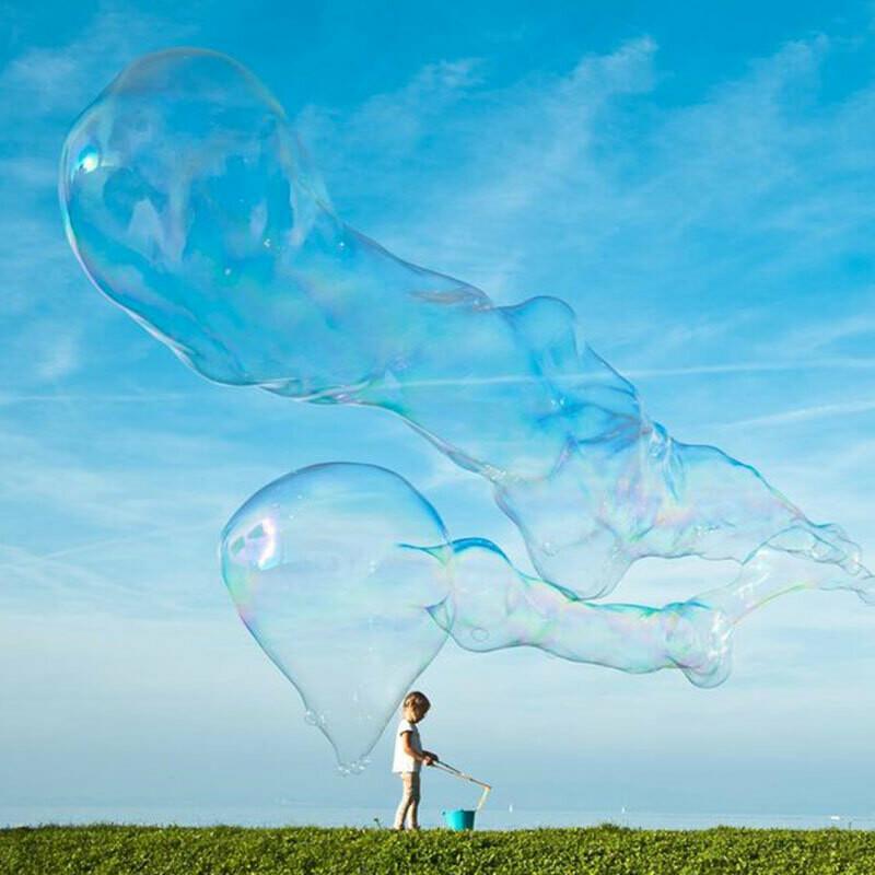 Zauberseife-Stecken für Riesenseifenblasen