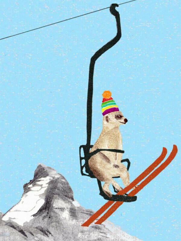 Postkarte Matterhorn