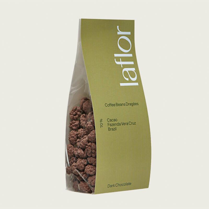 Schokolade-Kaffeebohnen