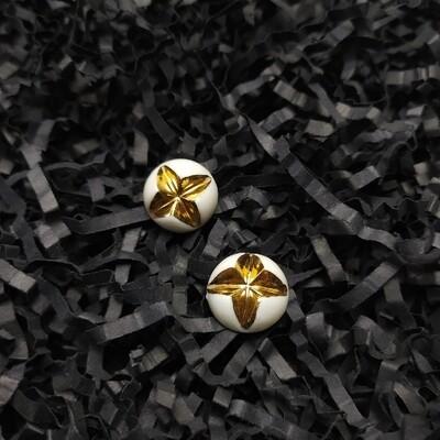 Klipsy, KRIS XL, złocone