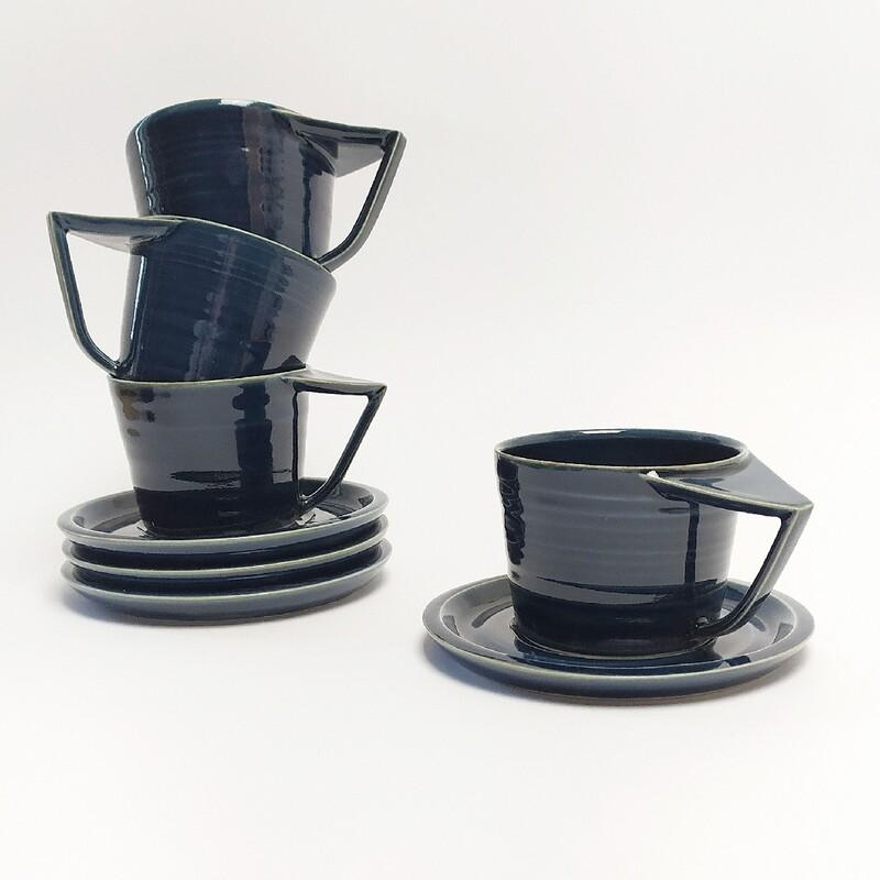 Zestaw 4 Filiżanki cappuccino
