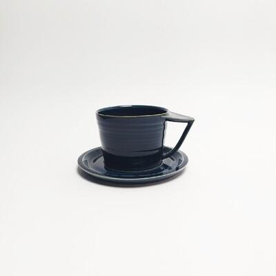 Filiżanka cappuccino, Niebieska, 250 ml