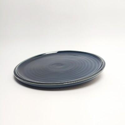 Talerz obiadowy 27 cm niebieski