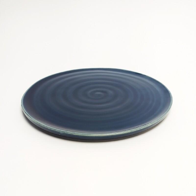 Talerzyk deserowy 17 cm niebieski