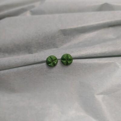Kolczyki, KRIS S, zielone