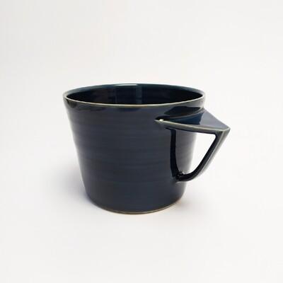 Kubek, niebieski, 500 ml