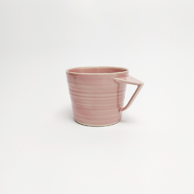 Kubek, różowy, 500 ml