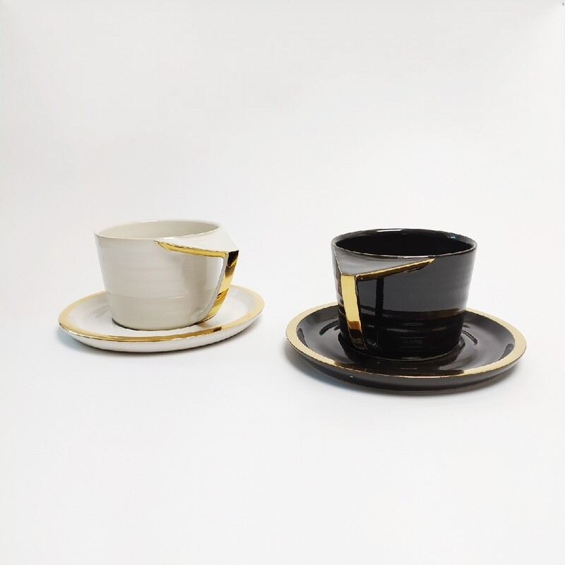 Zestaw 2 Filiżanki cappuccino