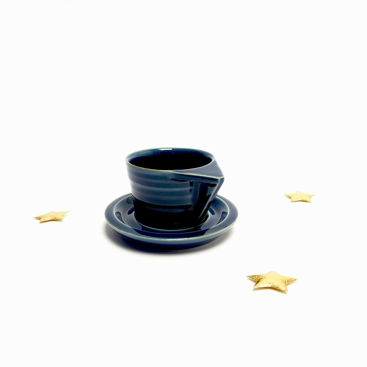 Filiżanka espresso, niebieska