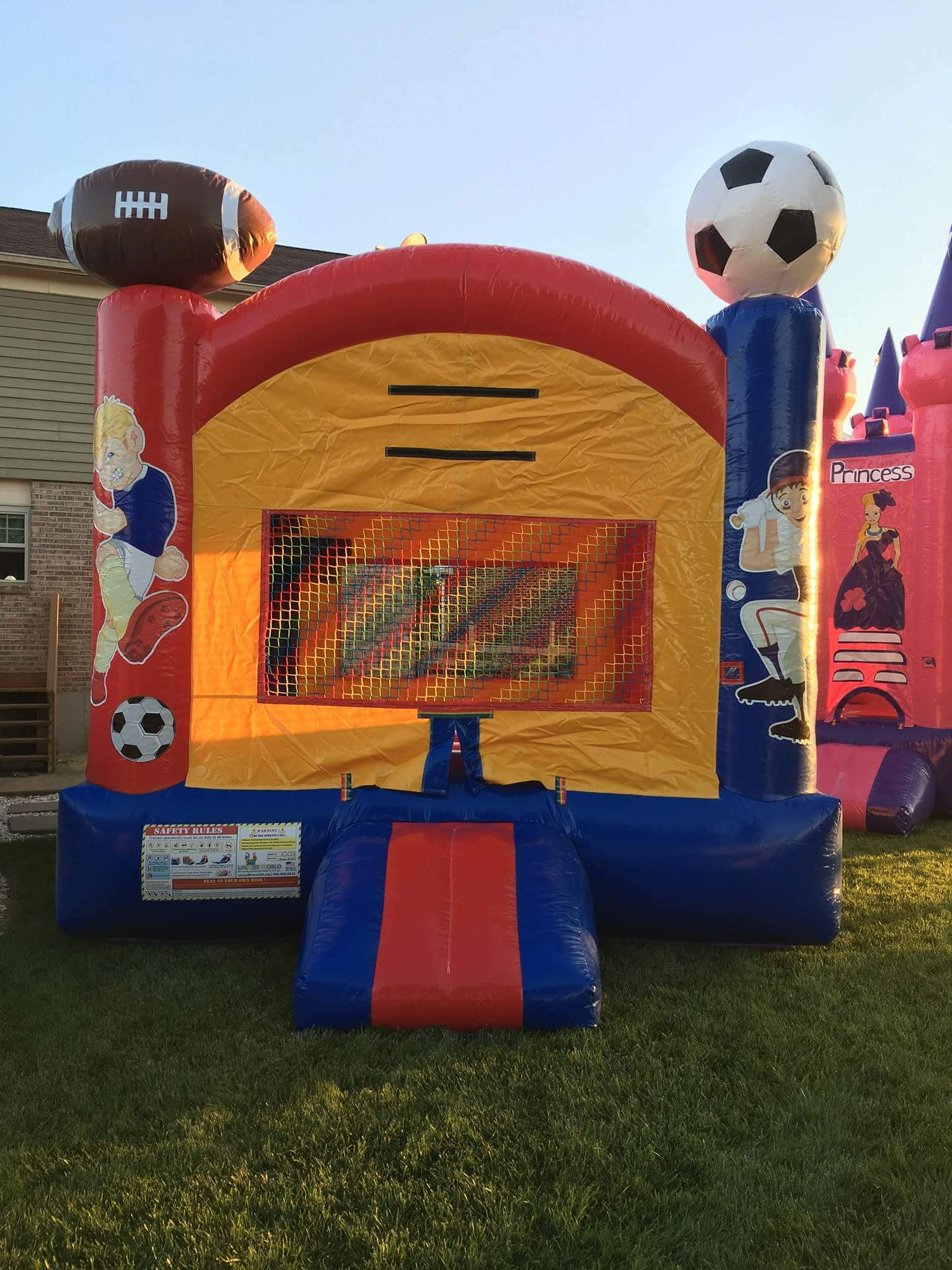 Sports Bounce House SPRT-001