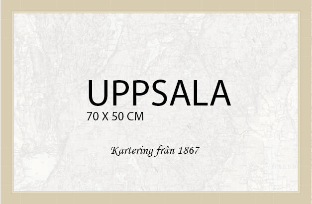 Uppsala  - affisch