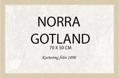 Gotland Norra - affisch